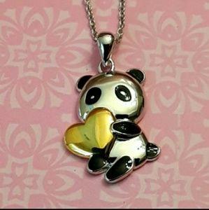"NEW S925 Panda Bear"" Will You Be Mine"""